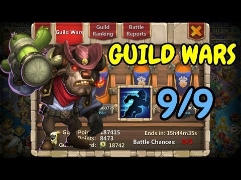 9/9 Stealth Mino In Guild Wars L Castle Clash