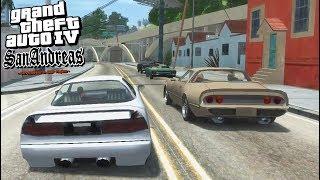 GTA 4 San Andreas | ЧИЛИАД НЕ ПРОЩАЕТ | Странная ИГРА :/