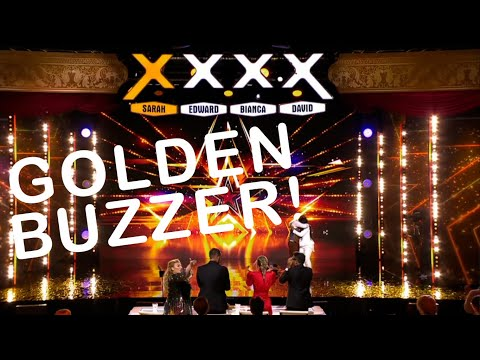 Gift Blessing earns a GOLDEN BUZZER with a mic drop! (Eng. subtitles) - Talang 2021