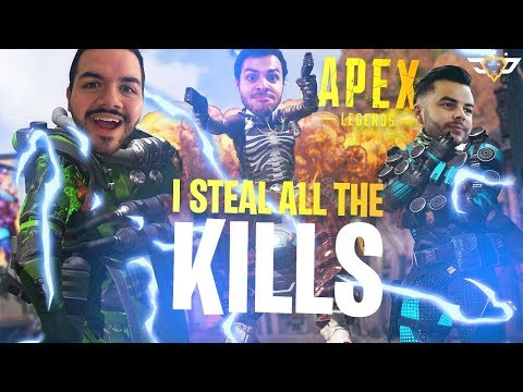 I STEAL ALL THE KILLS! TFUE SAID WHAT?! (Apex Legends)