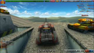 ☠☠☠Gameplay #12- Tanki Online/ Testing Voltage Kit (Railgun M2+ Dictator M2)☠☠☠