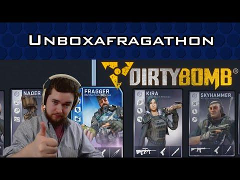 Dirty Bomb Unboxafragathon!