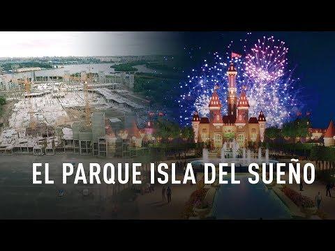 Rusia: Moscú está construyendo el enorme centro de ocio 'Parque Isla del Sueño'