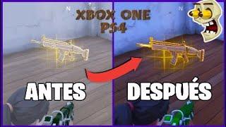 Cómo HACER que las ARMAS BRILLEN en FORTNITE (FUNCIONA) en Ps4 y Xbox One!!