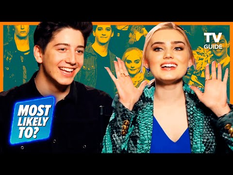 Zombies 2 Cast Plays Most Likely To | Meg Donnelly, Milo Manheim