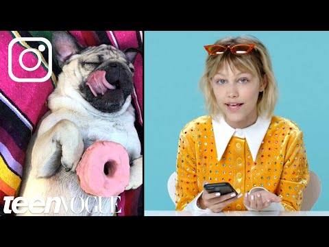 Grace VanderWaal Breaks Down Her Favorite Instagram Accounts  Teen Vogue