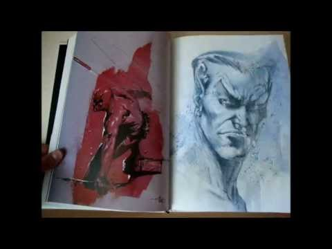 Review The Marvel Art of Gabriele Dell'Otto ITA