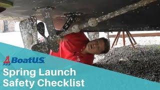 Spring Launch Safety Checklist