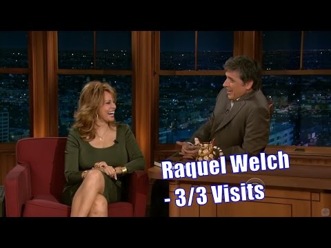 Raquel Welch - Craig Is A Fan - 3/3 Visits In Chronological Order
