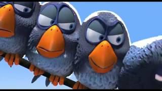 Мультфильм Disney - О птичках | Короткометражки Студии PIXAR | Птички на проводе