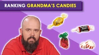 Ranking Hard Candies from Grandma | Bless Your Rank