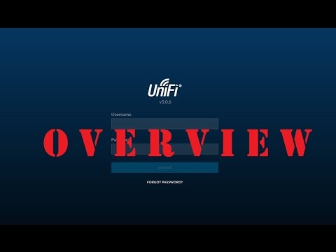 Ubiquiti Networks - UniFi Controller v5.0.6 - Overview