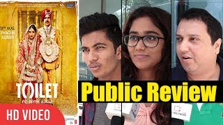 Toilet Ek Prem Katha Public Review | First Day First Show | Toilet Ek Prem Katha