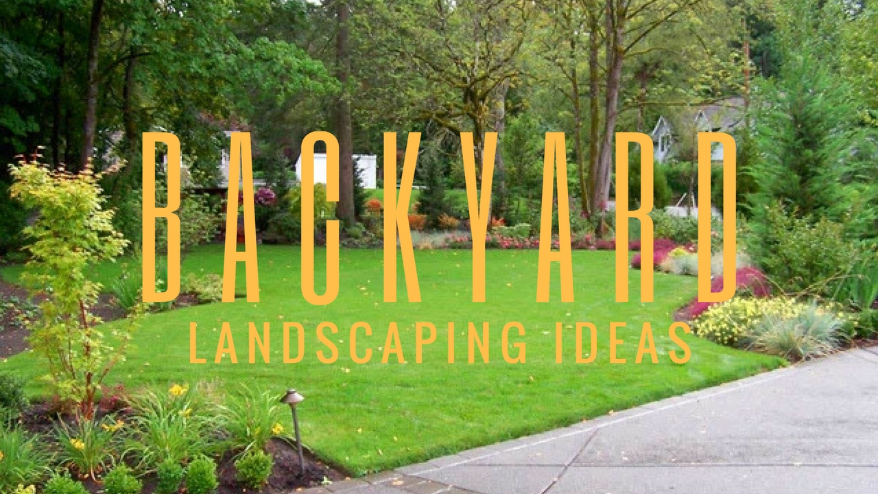 easy backyard landscaping ideas youtube