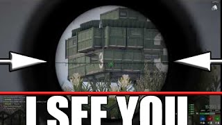 Glitch Penetration Sniper Kill - ARMA 3 by TheDeathChrist