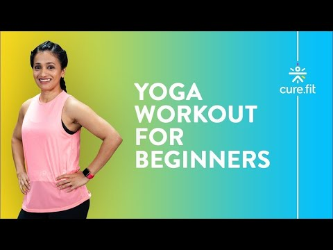 yoga workout for beginners  full body strength  cultfit