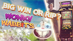 BIG WIN OR BIG RIP?!!!! Wonky wabbits - Casino - Huge Win (Casino Games)