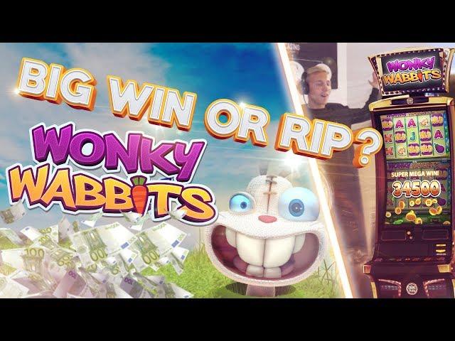 BIG WIN OR BIG RIP?!!!! Wonky wabbits - Casino - Huge Win (Casino Games)