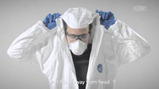 Donning and Doffing Tyvek® Classic Xpert