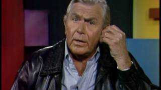 Andy Griffith interviewed by David Carroll, 1990