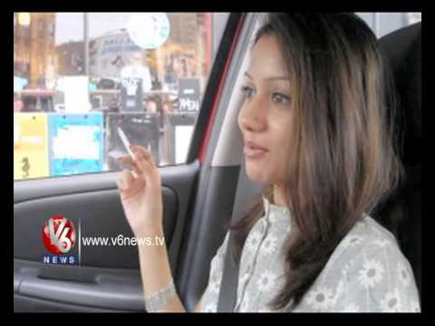 Female Smoking Become A Fashion In India || V6 News