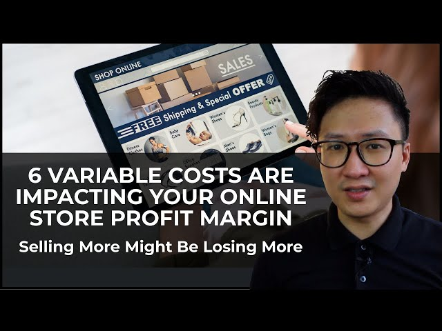 Are you losing money? 7 Variable Costs Are Impacting your Online Store Profit Margin - Easy2Digital