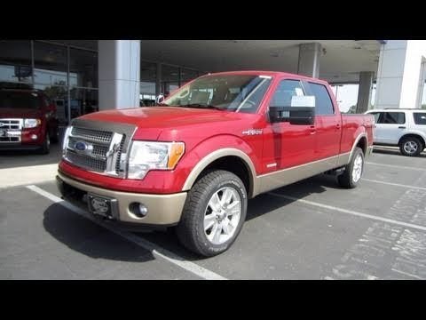 2011 ford f 150 lariat ecoboost start up engine and in depth tour youtube. Black Bedroom Furniture Sets. Home Design Ideas