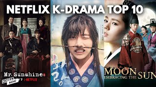 The 10 Korean historical dramas that you can watch on Netflix
