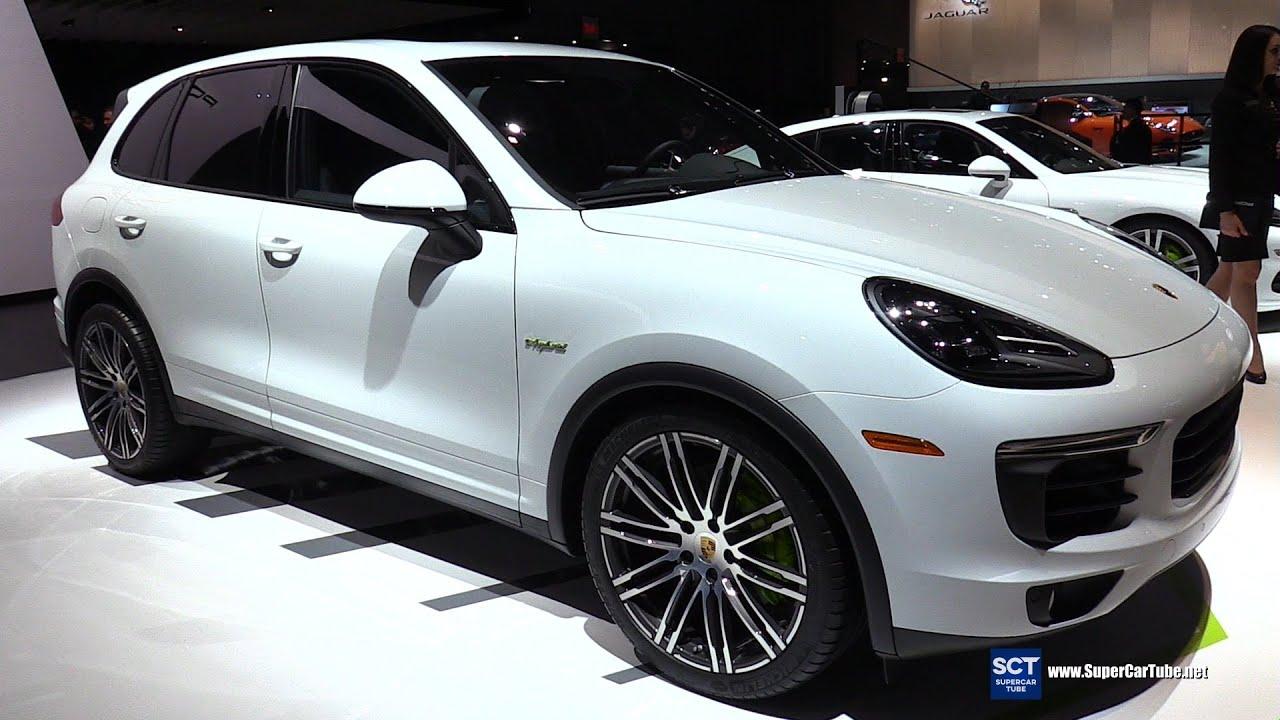 2016 Porsche Cayenne S Hybrid Exterior And Interior Walkaround New York Auto Show