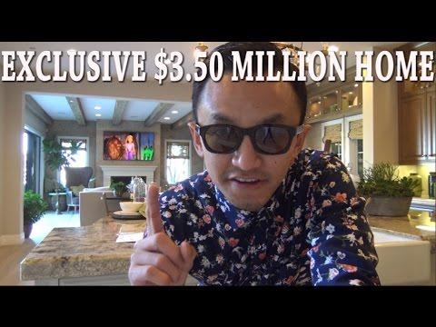 PRIVATE $3.50 MILLION HOME TOUR!! IRVINE CALIFORNIA
