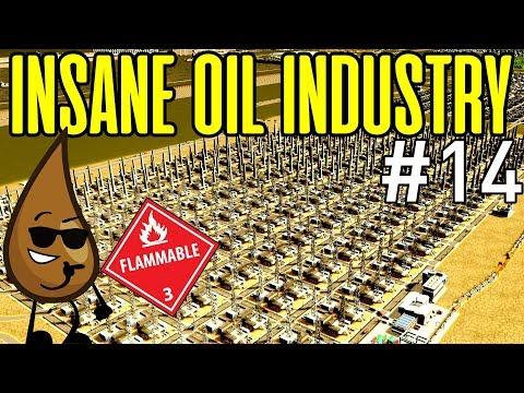 Gigantic Oil Industry Cities Skylines Industries - The Industrial Project Episode 14
