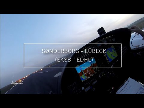 IFR Training Flight: Sønderborg to Lübeck - DA42NG VI