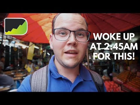 Why I Eat Breakfast at 3:30am | Jakarta Forex Trading Vlog
