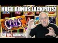 😸HUGE Jackpots! 😸Cats Slot Machine Wins! | The Big Jackpot