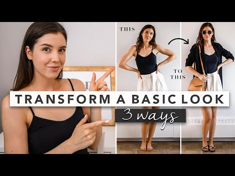 Fashion Finds - Transform a Basic Outfit: 1 Outfit Styled 3 Different Ways