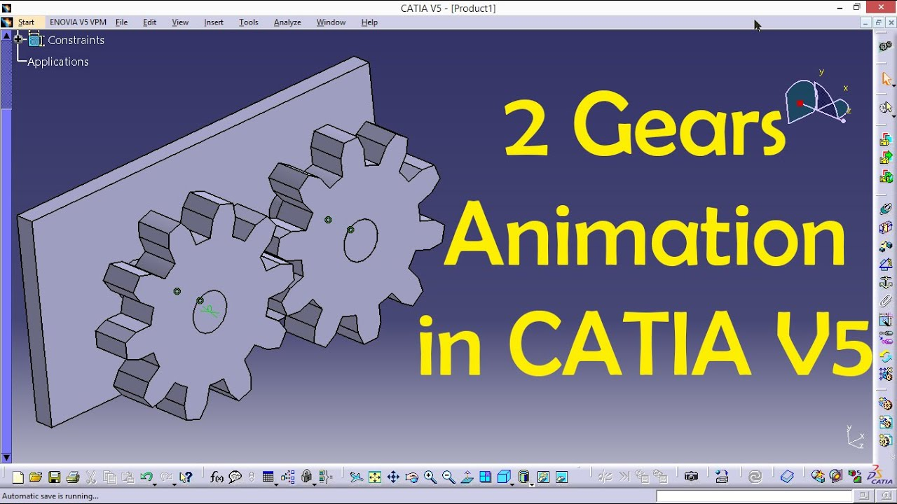 how to create macro in catia v5