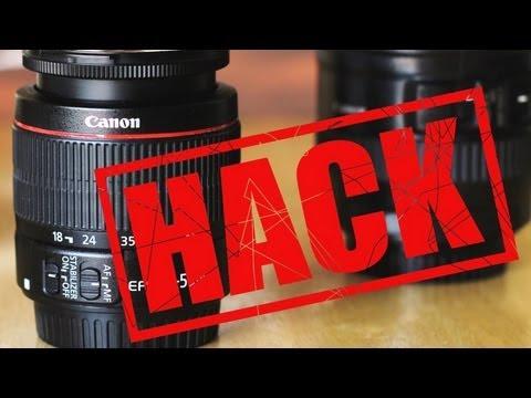 Photo101: Canon Kit Lens to 'L' lens HACK! It's so easy