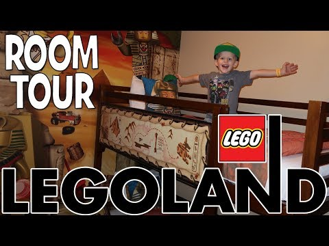 Legoland Adventure Room Tour!