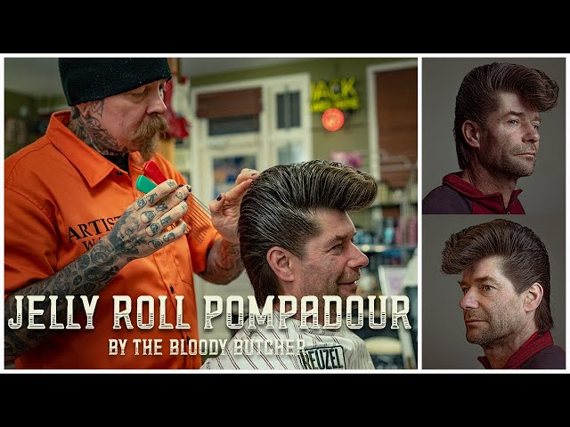 HOW TO CUT & GROOM: the Jelly Roll Pompadour a.k.a. The Elephants Trunk