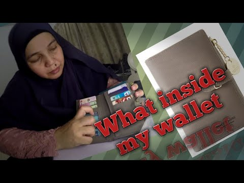 Isi dompet mak2 malaysia l What's inside my wallet
