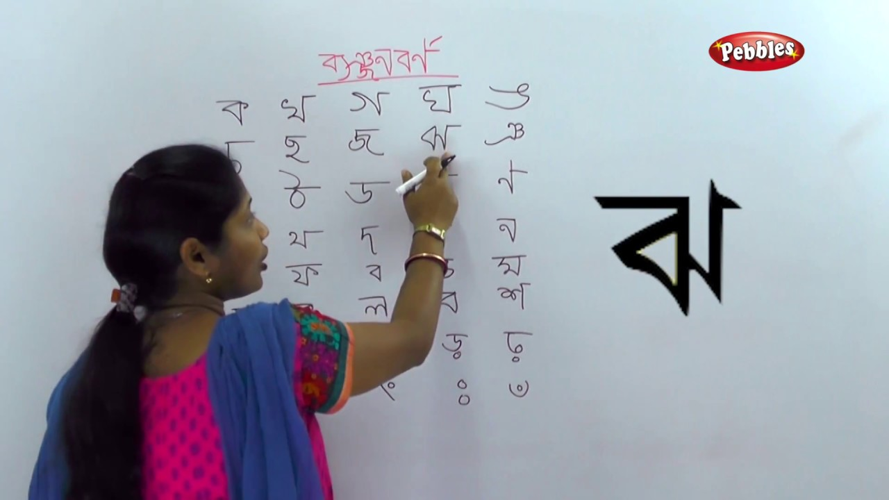 Alphabets Banjonborno | Bangla Alphabet For Children | How to write Bengali  Consonants