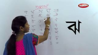 Alphabets Banjonborno | Bangla Alphabet For Children | How to write Bengali Consonants