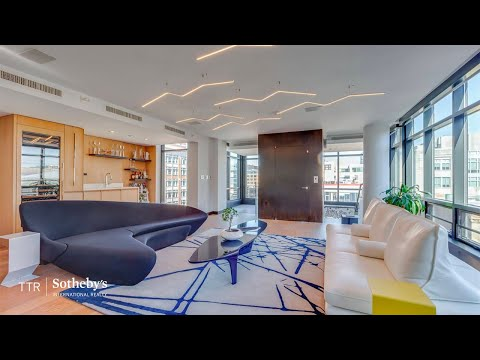 A Stylish Penthouse In Washington, D.C.'s Penn Quarter | TTR Sotheby's International Realty