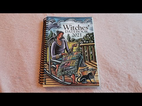 Llewellyn's Witches' Datebook 2021 #witchesdatebook2021