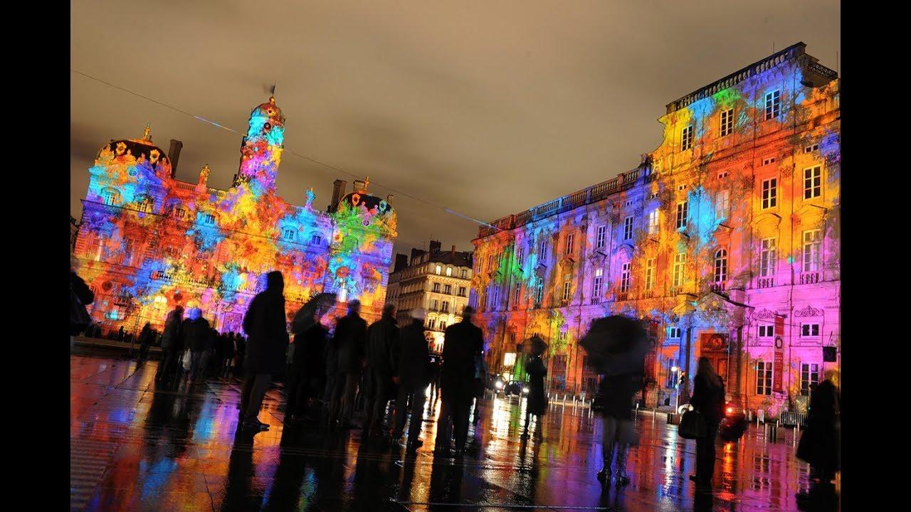 Fête Des Lumières Festival Of Lights Lyon France Youtube