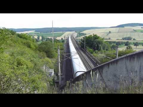 ICE 1 - German High-speed Train in Action!
