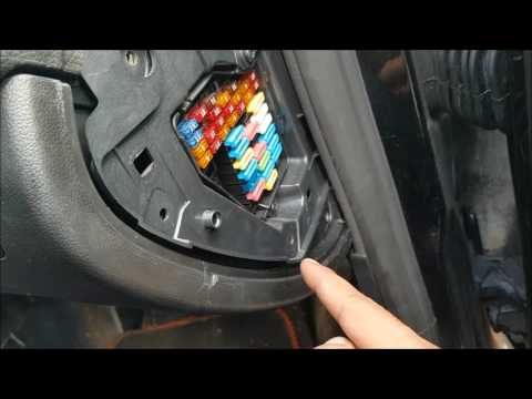 how to change fuel pump relay on seat leon mk1 youtube Seat Cupra R