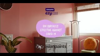 Asian Paints ezyCR8 Royale Health Shield Clear - Effective^ against COVID-19 with 99% efficacy