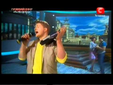 Х- фактор X-Factor  Алексей Кузнецов. Эфир  9