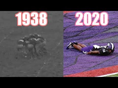 Evolution of Football Trick Plays (1910s-2020)
